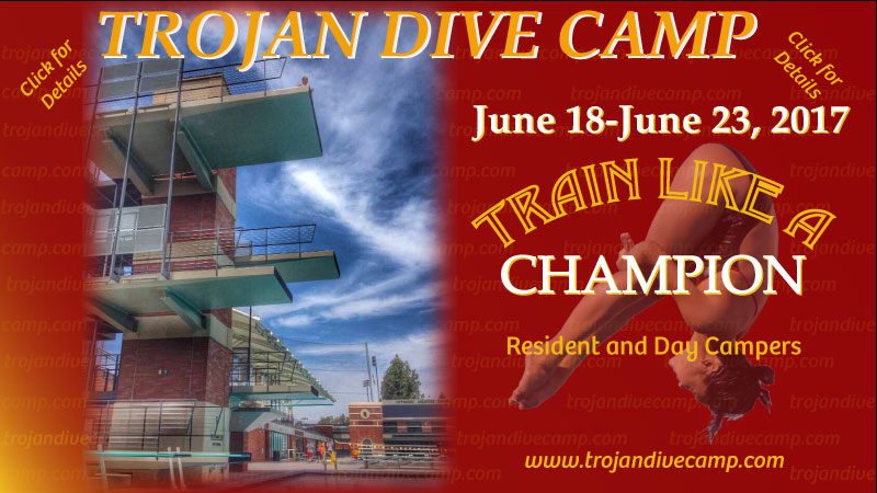 Trojan Dive Camp Ad